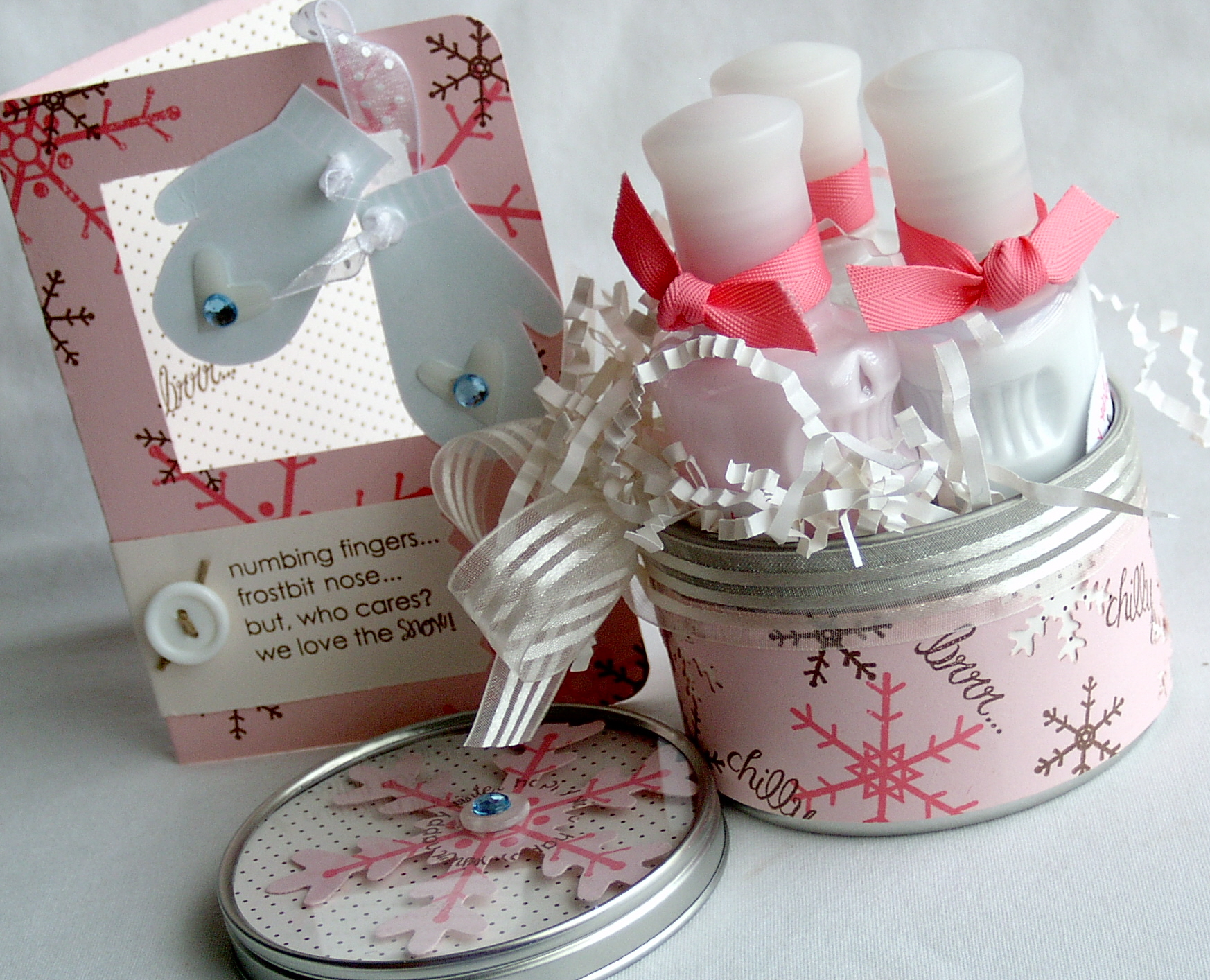 Snowfall Winter Gift set