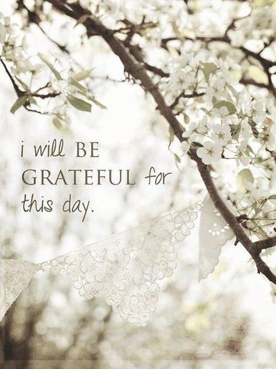 Gratefulforthisday