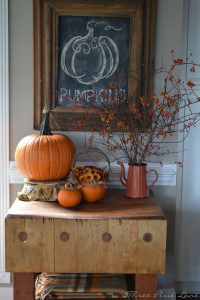 Pumpkinchalkart