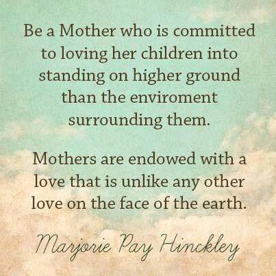 Mothersareendowed