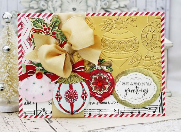 Anna Griffin Christmas Cards.Lilybean Paperie Holiday Magic