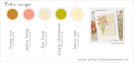 11th Anniversary Color Challenge - Melissa