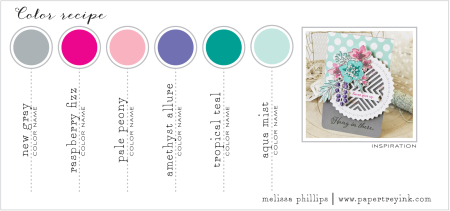 April 2018 Color Inspiration Card Melissa P