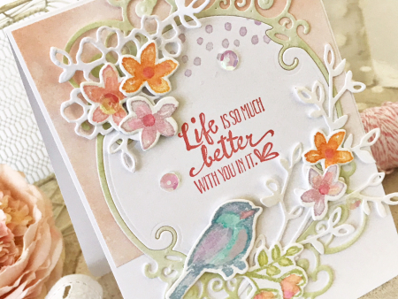 Life card by melissa phillips for scrapbook and cards today1